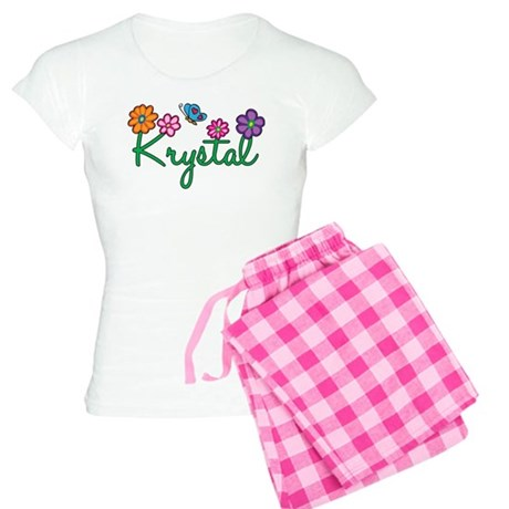 Krystal Flowers Women's Light Pajamas