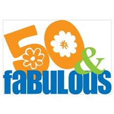 50th birthday & fabulous