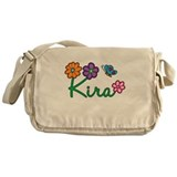 Kira Flowers Messenger Bag