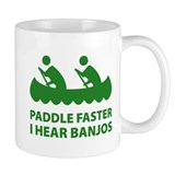 Paddle Faster Coffee Mug