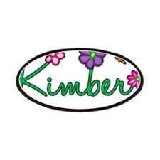 Kimber Flowers Patches