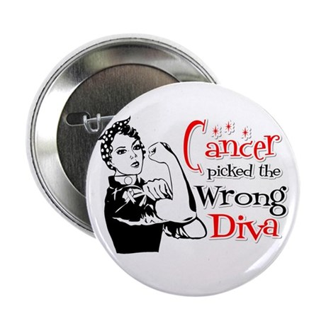 "Wrong Diva Retinoblastoma 2.25"" Button"