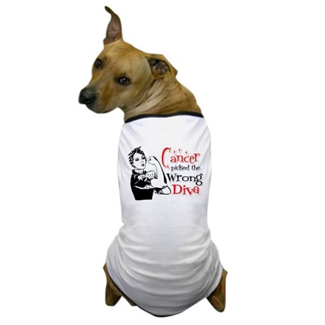 Wrong Diva Retinoblastoma Dog T-Shirt