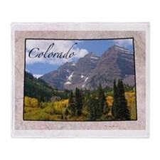 Cute Colorado Throw Blanket