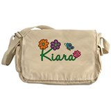 Kiara Flowers Messenger Bag