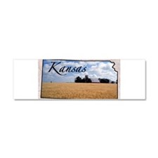 Cute Kansas Car Magnet 10 x 3