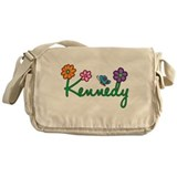 Kennedy Flowers Messenger Bag