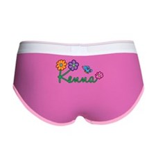 Kenna Flowers Women's Boy Brief