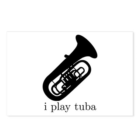 I Play Tuba Postcards (Package of 8)