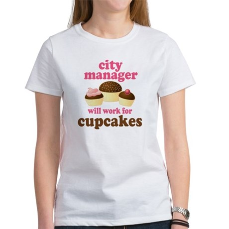 Funny City Manager Women's T-Shirt