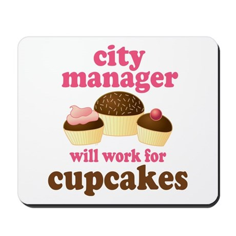 Funny City Manager Mousepad