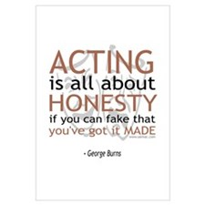 George Burns Acting Quote