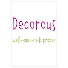 Decorous