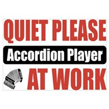 Accordion Player Work
