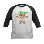 Little Monkey Lawrence Kids Baseball Jersey