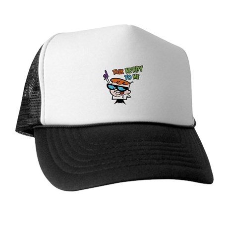 Dexter's Lab Talk Nerdy Trucker Hat