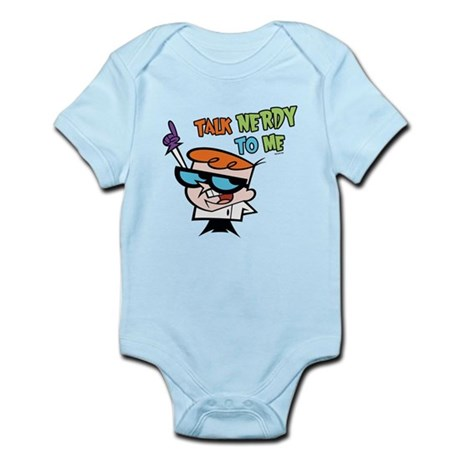 Dexter's Lab Talk Nerdy Infant Bodysuit