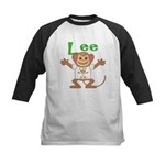 Little Monkey Lee Kids Baseball Jersey
