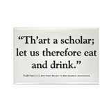 Twelfth Night Quote Magnet