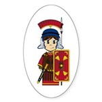 Cute Roman Soldier Sticker