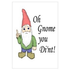 Oh Gnome You Di'nt!