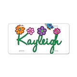 Kayleigh Flowers Aluminum License Plate