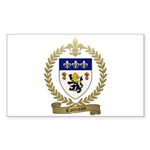 COTTREAU Family Crest Sticker (Rectangle 10 pk)