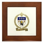 COTTREAU Family Crest Framed Tile