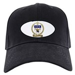 COTTREAU Family Crest Black Cap