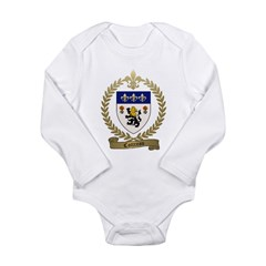 COTTREAU Family Crest Long Sleeve Infant Bodysuit