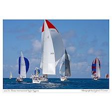 Sailing in St. Thomas Regatta