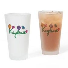 Kaydence Flowers Drinking Glass