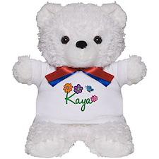 Kaya Flowers Teddy Bear