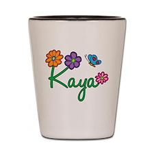Kaya Flowers Shot Glass