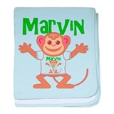 Little Monkey Marvin baby blanket