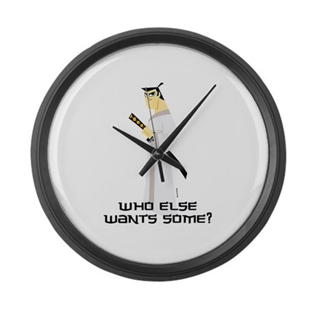 Samurai Jack Large Wall Clock