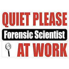 Forensic Scientist Work