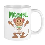 Little Monkey Mitchell Mug
