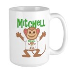 Little Monkey Mitchell Large Mug