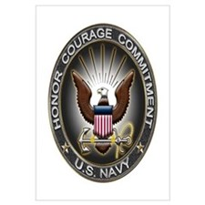 USN Eagle Honor Courage Commi