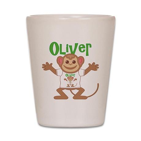 Little Monkey Oliver Shot Glass