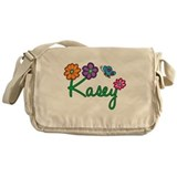 Kasey Flowers Messenger Bag