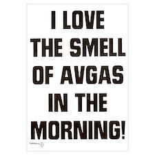 THE SMELL OF AV GAS