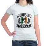 Woodside Queens NY Irish Jr. Ringer T-Shirt