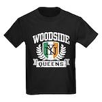 Woodside Queens NY Irish Kids Dark T-Shirt