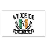 Woodside Queens NY Irish Sticker (Rectangle)