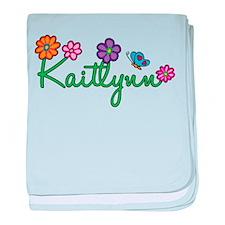 Kaitlynn Flowers baby blanket