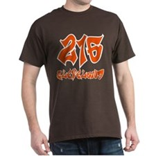 "Cleveland ""Browns Colors"" Brown T-Shirt"