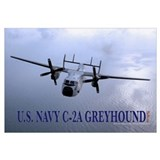 "U.S. Navy C-2A Greyhound 35"" x 23"""