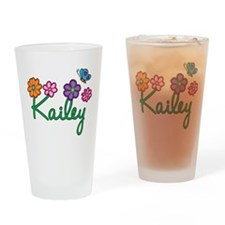 Kailey Flowers Drinking Glass